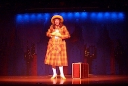 Colleen as 'Thoroughly Modern Millie'.
