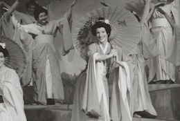 Colleen in the role of Yum Yum in 'The Mikado'.